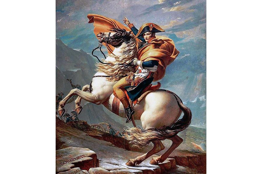 Ж.Л. Давид. Бонапарт на перевале Сен-Бернар