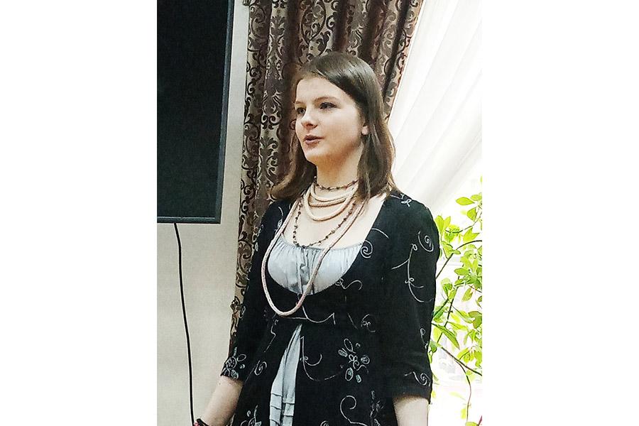 Устинья Сенина, студентка ГМПИ им. Иполитова-Иванова