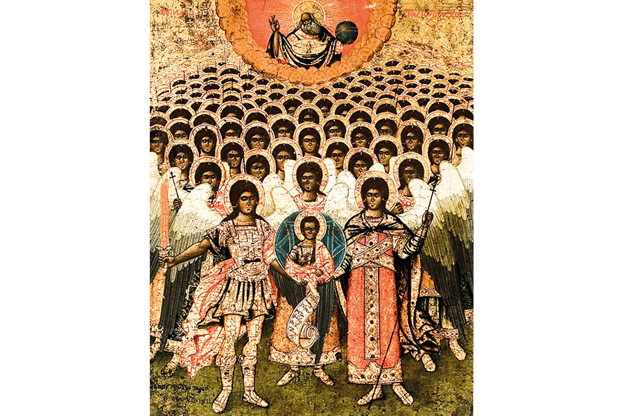 Собор Архангела Михаила. Икона