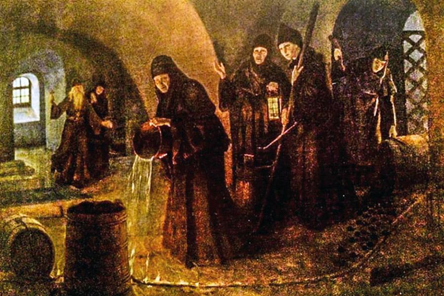 Подвиг монастырской казначеи Сарры