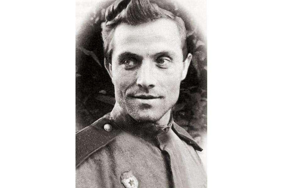 Иван Воронов (будущий архимандрит Алипий) во время Великой Отечественной войны