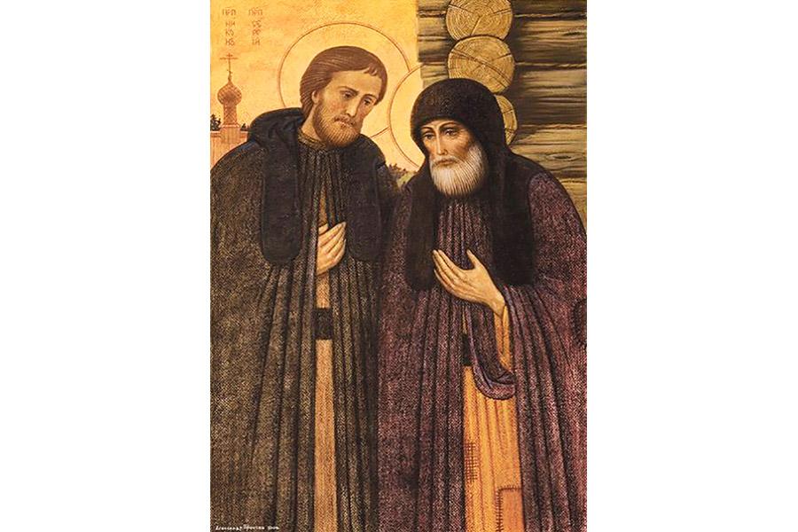 Преемник Преподобного Сергия Радонежского и ученик его – преподобный Никон.
