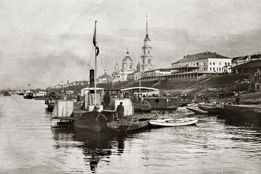 Рыбинск в 1900 г.