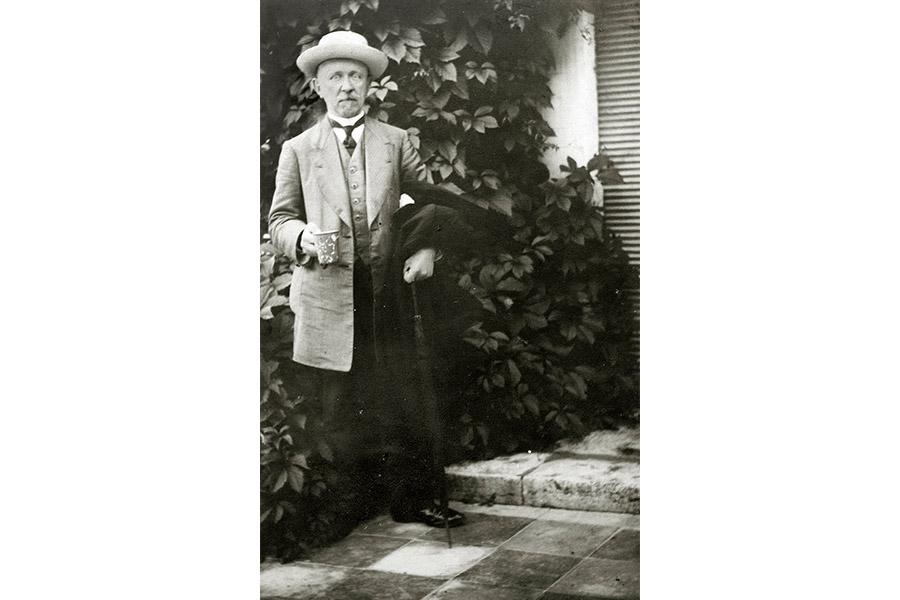Николай Петрович Черенин в Ессентуках в 1913 году