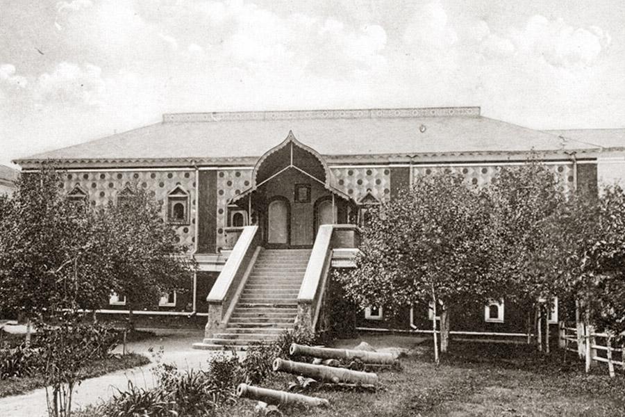Дворец Романовых в Костроме