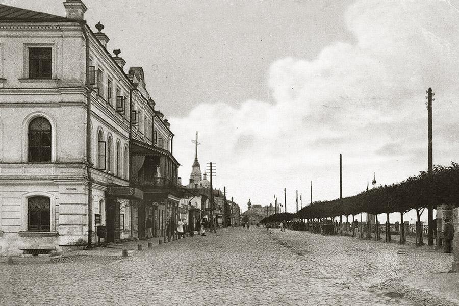 Волжская набережная Рыбинска