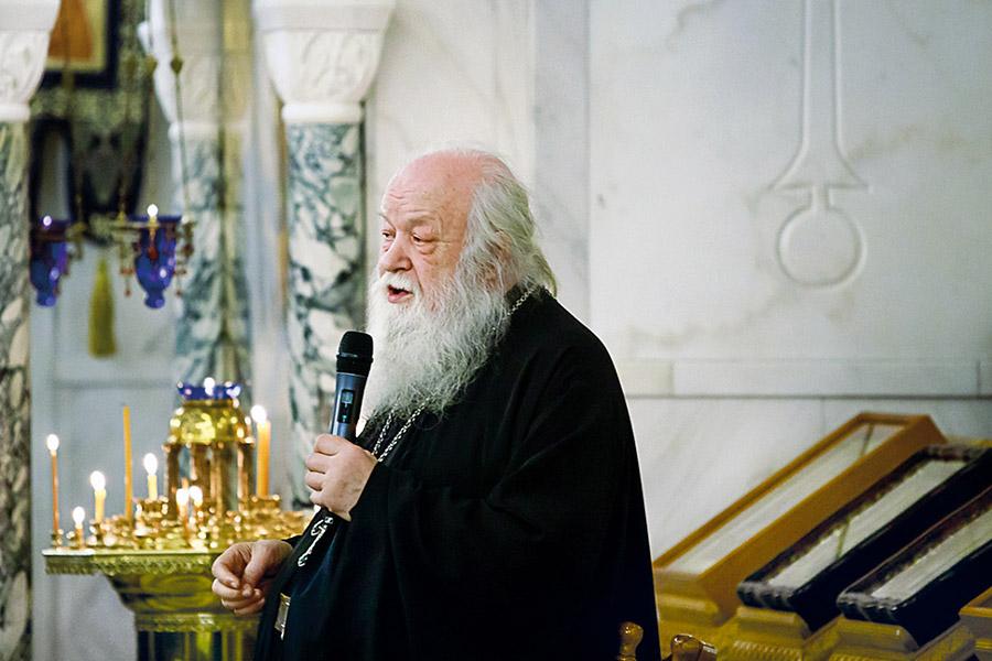 Отец Валериан Кречетов. Встреча в храме Покрова Пресвятой Богородицы в Ясеневе