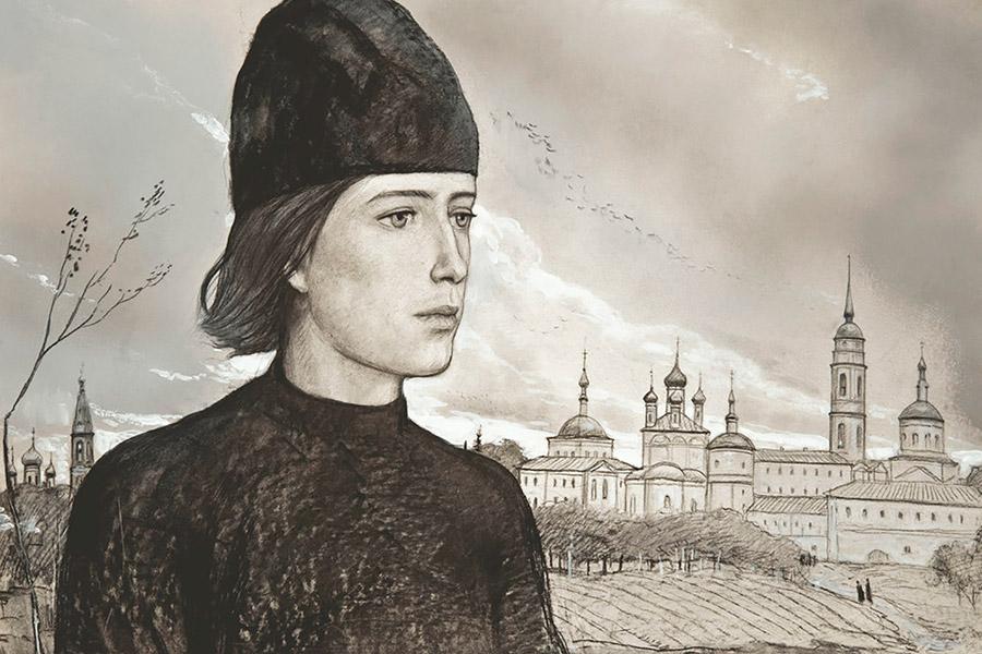 Алеша Карамазов. Иллюстрация Ильи Глазунова