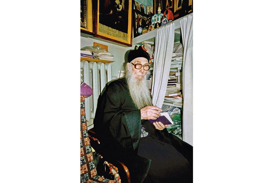 Архимандрит Кирилл (Павлов) в Переделкине